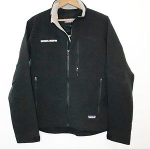 Patagonia Black Guide Jacket National Guard Patch